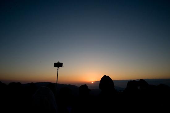 灰ヶ峰初日の出