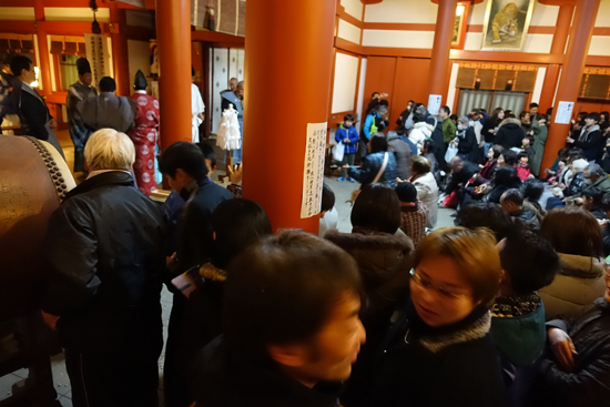 亀山神社節分祭