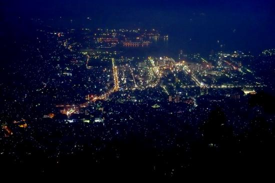 呉市灰ヶ峰の夜景
