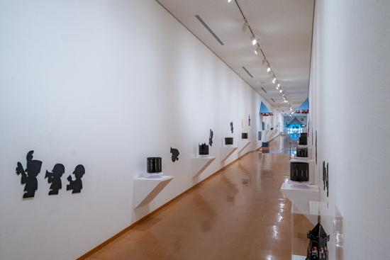 浜田世界こども美術館展示室