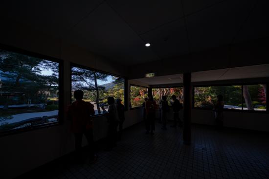 足立美術館回廊