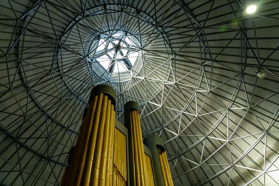 竹原バンブー総合公園竹の館